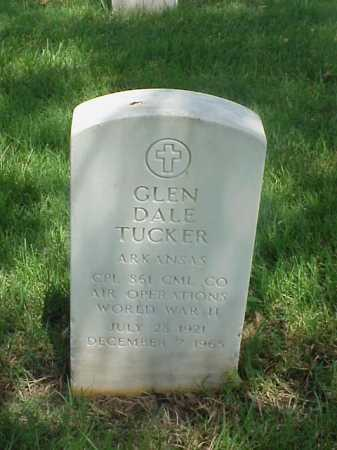 TUCKER (VETERAN WWII), GLEN DALE - Pulaski County, Arkansas | GLEN DALE TUCKER (VETERAN WWII) - Arkansas Gravestone Photos