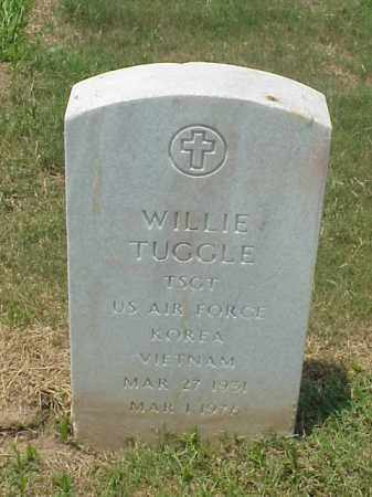 TUGGLE (VETERAN 2 WARS), WILLIE - Pulaski County, Arkansas | WILLIE TUGGLE (VETERAN 2 WARS) - Arkansas Gravestone Photos
