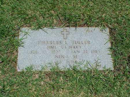 TULLER (VETERAN 2 WARS), CHARLES L - Pulaski County, Arkansas | CHARLES L TULLER (VETERAN 2 WARS) - Arkansas Gravestone Photos