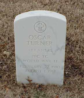 TURNER  (VETERAN WWII), OSCAR - Pulaski County, Arkansas | OSCAR TURNER  (VETERAN WWII) - Arkansas Gravestone Photos