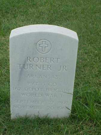 TURNER, JR (VETERAN WWI), ROBERT - Pulaski County, Arkansas | ROBERT TURNER, JR (VETERAN WWI) - Arkansas Gravestone Photos