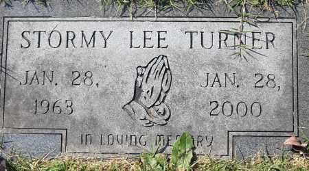 TURNER, STORMY LEE - Pulaski County, Arkansas | STORMY LEE TURNER - Arkansas Gravestone Photos