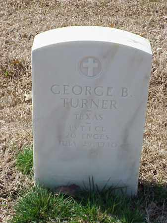 TURNER (VETERAN), GEORGE B - Pulaski County, Arkansas | GEORGE B TURNER (VETERAN) - Arkansas Gravestone Photos