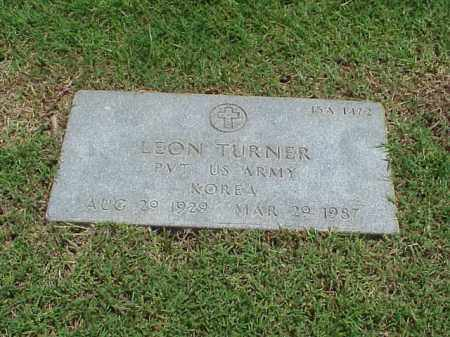 TURNER (VETERAN KOR), LEON - Pulaski County, Arkansas | LEON TURNER (VETERAN KOR) - Arkansas Gravestone Photos