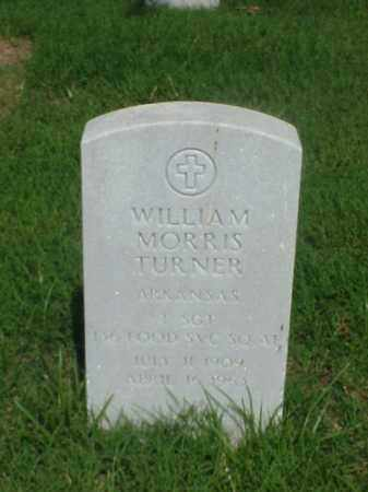 TURNER (VETERAN KOR), WILLIAM MORRIS - Pulaski County, Arkansas | WILLIAM MORRIS TURNER (VETERAN KOR) - Arkansas Gravestone Photos