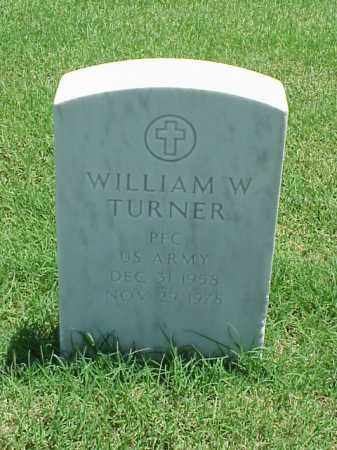 TURNER (VETERAN), WILLIAM W - Pulaski County, Arkansas | WILLIAM W TURNER (VETERAN) - Arkansas Gravestone Photos