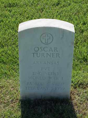 TURNER (VETERAN WWI), OSCAR - Pulaski County, Arkansas | OSCAR TURNER (VETERAN WWI) - Arkansas Gravestone Photos