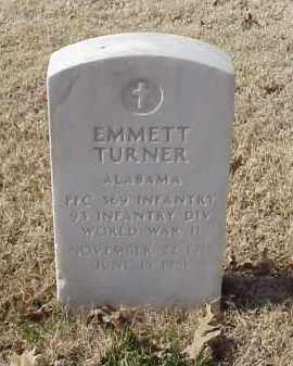 TURNER (VETERAN WWII), EMMETT - Pulaski County, Arkansas | EMMETT TURNER (VETERAN WWII) - Arkansas Gravestone Photos
