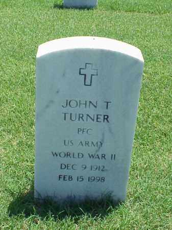 TURNER (VETERAN WWII), JOHN T - Pulaski County, Arkansas | JOHN T TURNER (VETERAN WWII) - Arkansas Gravestone Photos