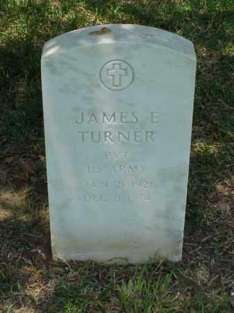 TURNER (VETERAN WWII), JAMES E - Pulaski County, Arkansas | JAMES E TURNER (VETERAN WWII) - Arkansas Gravestone Photos