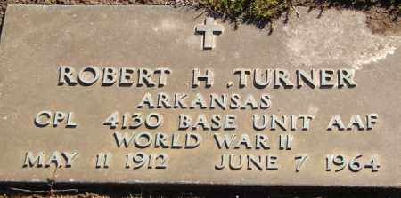 TURNER (VETERAN WWII), ROBERT H - Pulaski County, Arkansas | ROBERT H TURNER (VETERAN WWII) - Arkansas Gravestone Photos