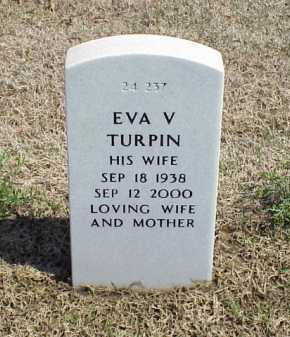 TURPIN, EVA V - Pulaski County, Arkansas | EVA V TURPIN - Arkansas Gravestone Photos