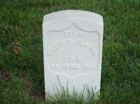 TURPIN (VETERAN UNION), DAVID S - Pulaski County, Arkansas | DAVID S TURPIN (VETERAN UNION) - Arkansas Gravestone Photos