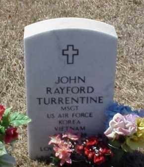 TURRENTINE (VETERAN 2 WARS), JOHN RAYFORD - Pulaski County, Arkansas | JOHN RAYFORD TURRENTINE (VETERAN 2 WARS) - Arkansas Gravestone Photos