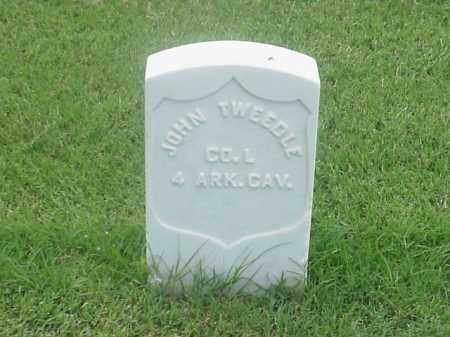 TWEEDLE (VETERAN UNION), JOHN - Pulaski County, Arkansas | JOHN TWEEDLE (VETERAN UNION) - Arkansas Gravestone Photos