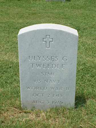 TWEEDLE (VETERAN WWII), ULYSSES G - Pulaski County, Arkansas | ULYSSES G TWEEDLE (VETERAN WWII) - Arkansas Gravestone Photos