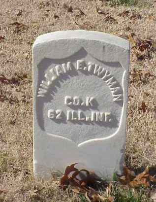 TWYMAN (VETERAN UNION), WILLIAM E - Pulaski County, Arkansas | WILLIAM E TWYMAN (VETERAN UNION) - Arkansas Gravestone Photos