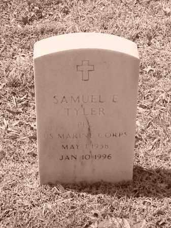 TYLER (VETERAN), SAMUEL EUGENE - Pulaski County, Arkansas | SAMUEL EUGENE TYLER (VETERAN) - Arkansas Gravestone Photos
