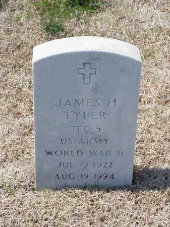 TYLER (VETERAN WWII), JAMES H - Pulaski County, Arkansas | JAMES H TYLER (VETERAN WWII) - Arkansas Gravestone Photos