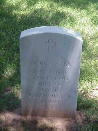 TYSON, DONNA M - Pulaski County, Arkansas | DONNA M TYSON - Arkansas Gravestone Photos