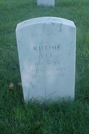 TYSON, RUTHIE LEE - Pulaski County, Arkansas | RUTHIE LEE TYSON - Arkansas Gravestone Photos