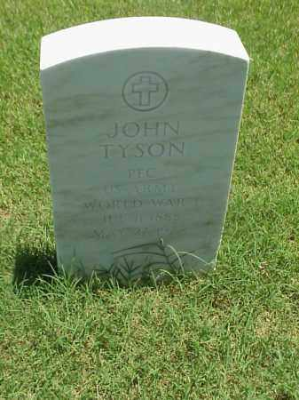 TYSON (VETERAN WWI), JOHN - Pulaski County, Arkansas | JOHN TYSON (VETERAN WWI) - Arkansas Gravestone Photos