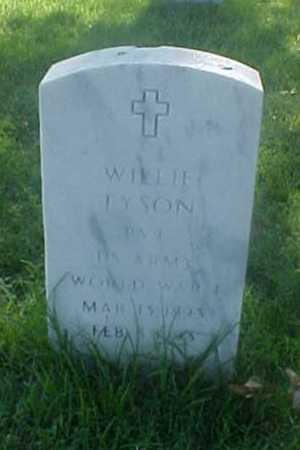 TYSON (VETERAN WWI), WILLIE - Pulaski County, Arkansas | WILLIE TYSON (VETERAN WWI) - Arkansas Gravestone Photos