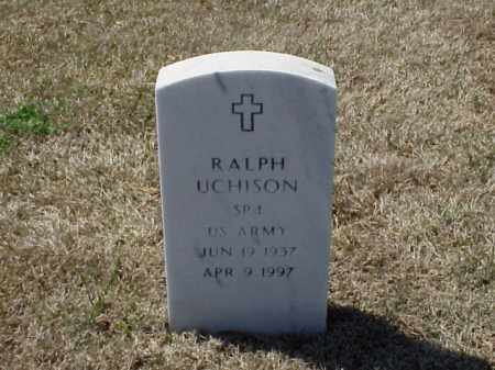 UCHISON (VETERAN), RALPH - Pulaski County, Arkansas | RALPH UCHISON (VETERAN) - Arkansas Gravestone Photos