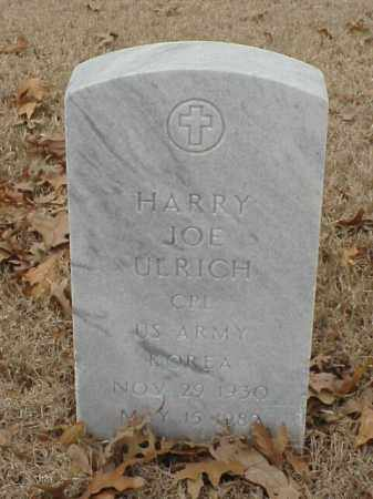 ULRICH (VETERAN KOR), HARRY JOE - Pulaski County, Arkansas | HARRY JOE ULRICH (VETERAN KOR) - Arkansas Gravestone Photos