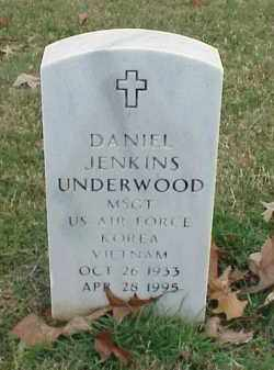 UNDERWOOD (VETERAN 2 WARS), DANIEL JENKINS - Pulaski County, Arkansas | DANIEL JENKINS UNDERWOOD (VETERAN 2 WARS) - Arkansas Gravestone Photos