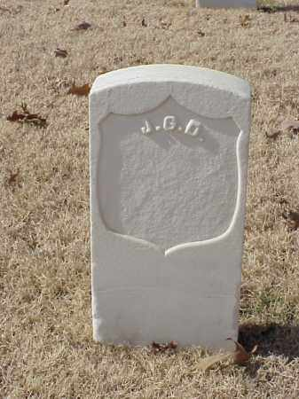 UNKNOWN (VETERAN UNION), J G D - Pulaski County, Arkansas | J G D UNKNOWN (VETERAN UNION) - Arkansas Gravestone Photos