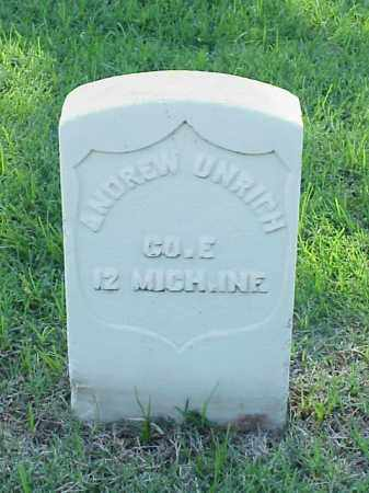 UNRICH (VETERAN UNION), ANDREW - Pulaski County, Arkansas | ANDREW UNRICH (VETERAN UNION) - Arkansas Gravestone Photos