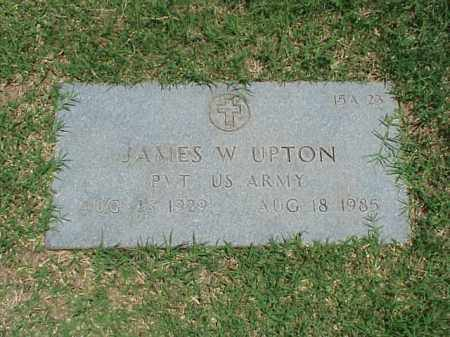 UPTON (VETERAN), JAMES W - Pulaski County, Arkansas | JAMES W UPTON (VETERAN) - Arkansas Gravestone Photos