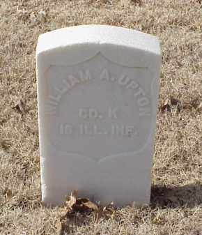 UPTON (VETERAN UNION), WILLIAM A - Pulaski County, Arkansas | WILLIAM A UPTON (VETERAN UNION) - Arkansas Gravestone Photos