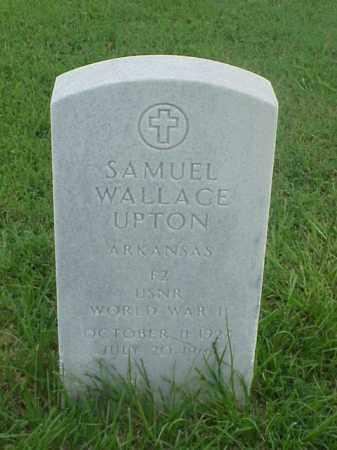 UPTON (VETERAN WWII), SAMUEL WALLACE - Pulaski County, Arkansas | SAMUEL WALLACE UPTON (VETERAN WWII) - Arkansas Gravestone Photos