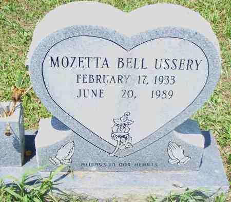 USSERY, MOZETTA BELL - Pulaski County, Arkansas | MOZETTA BELL USSERY - Arkansas Gravestone Photos