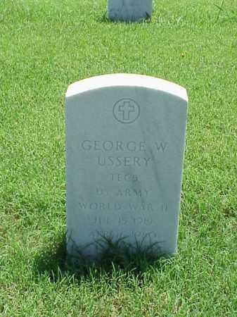 USSERY (WWII), GEORGE - Pulaski County, Arkansas | GEORGE USSERY (WWII) - Arkansas Gravestone Photos