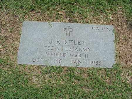 UTLEY (VETERAN WWII), J R - Pulaski County, Arkansas | J R UTLEY (VETERAN WWII) - Arkansas Gravestone Photos
