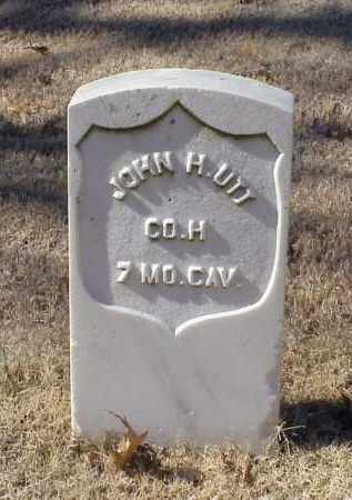 UTT (VETERAN UNION), JOHN H - Pulaski County, Arkansas | JOHN H UTT (VETERAN UNION) - Arkansas Gravestone Photos