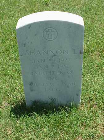 VAIL, SHANNON L - Pulaski County, Arkansas | SHANNON L VAIL - Arkansas Gravestone Photos