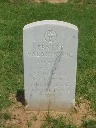 VALACHOVIC (VETERAN WWII), ERNEST - Pulaski County, Arkansas | ERNEST VALACHOVIC (VETERAN WWII) - Arkansas Gravestone Photos