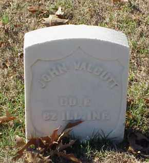 VALCUTT (VETERAN UNION), JOHN - Pulaski County, Arkansas | JOHN VALCUTT (VETERAN UNION) - Arkansas Gravestone Photos