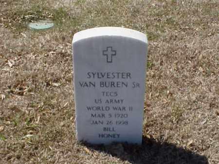 VAN BUREN, SR (VETERAN WWII), SYLVESTER - Pulaski County, Arkansas | SYLVESTER VAN BUREN, SR (VETERAN WWII) - Arkansas Gravestone Photos