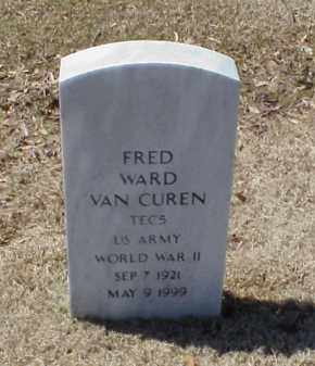 VAN CUREN (VETERAN WWII), FRED WARD - Pulaski County, Arkansas | FRED WARD VAN CUREN (VETERAN WWII) - Arkansas Gravestone Photos