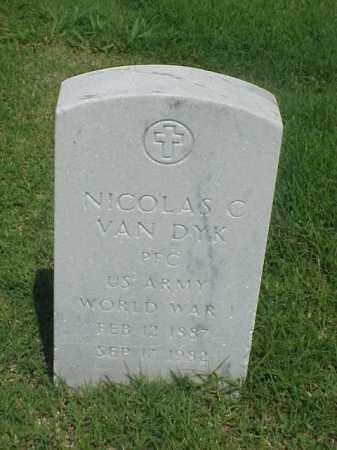 VAN DYK (VETERAN WWI), NICOLAS C - Pulaski County, Arkansas | NICOLAS C VAN DYK (VETERAN WWI) - Arkansas Gravestone Photos