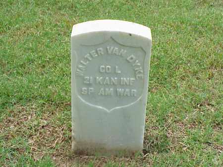VAN DYKE (VETERAN SAW), WALTER - Pulaski County, Arkansas | WALTER VAN DYKE (VETERAN SAW) - Arkansas Gravestone Photos