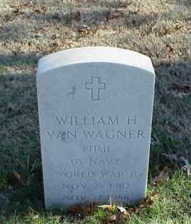 VAN WAGNER (VETERAN WWII), WILLIAM H - Pulaski County, Arkansas | WILLIAM H VAN WAGNER (VETERAN WWII) - Arkansas Gravestone Photos