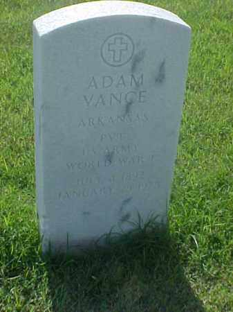 VANCE (VETERAN WWI), ADAM - Pulaski County, Arkansas | ADAM VANCE (VETERAN WWI) - Arkansas Gravestone Photos