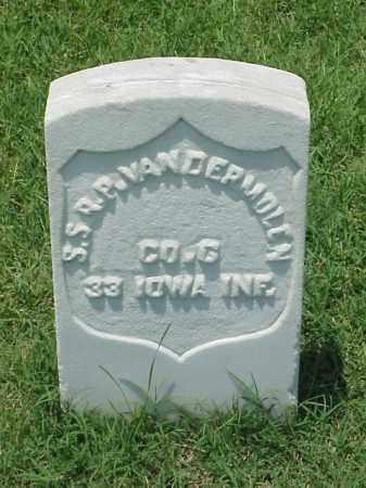 VANDERMOLEN (VETERAN UNION), S S R P - Pulaski County, Arkansas | S S R P VANDERMOLEN (VETERAN UNION) - Arkansas Gravestone Photos