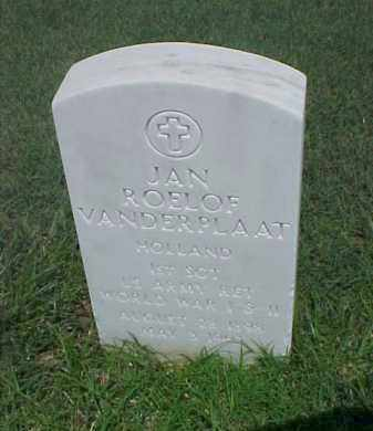 VANDERPLAAT (VETERAN 2 WARS), JAN ROELOF - Pulaski County, Arkansas | JAN ROELOF VANDERPLAAT (VETERAN 2 WARS) - Arkansas Gravestone Photos